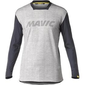 Mavic Deemax Pro Longsleeve Jersey Heren, moon mist/black
